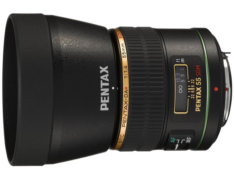 Pentax postponed the launch of DA Star 55mm F1.4 SDM to February