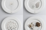+/- Hot Plate concept keeps food warm with conductive pattern