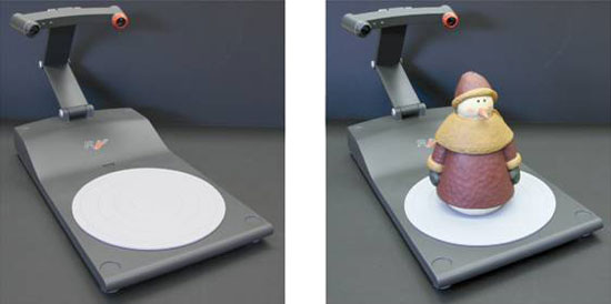 Scan 3D objects from home with the RealView 3D scanner