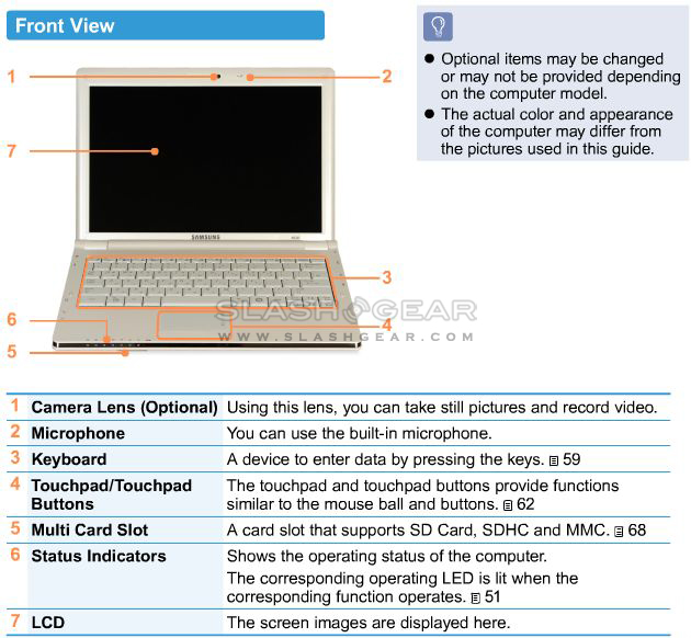 Samsung NC20 netbook user manual released [Updated with pricing]