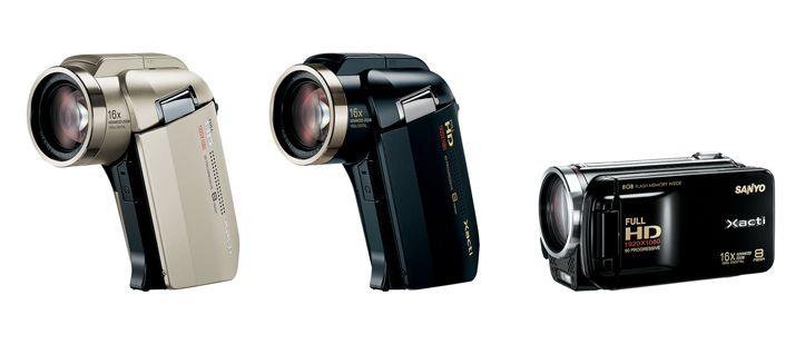 Sanyo Xacti 2009 camcorder range unveiled: 1080p 60fps HDX-2000