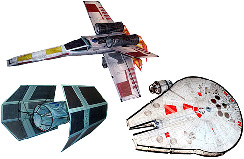 Star Wars kites: peaceful distraction while the world goes to ruin