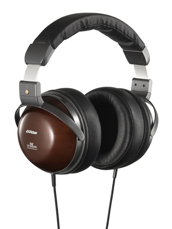 JVC HP-DX700 wooden headphone extends human hearing
