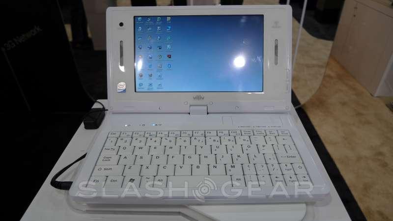 CES 2009: Viliv S5, S7 and X70 Atom MIDs