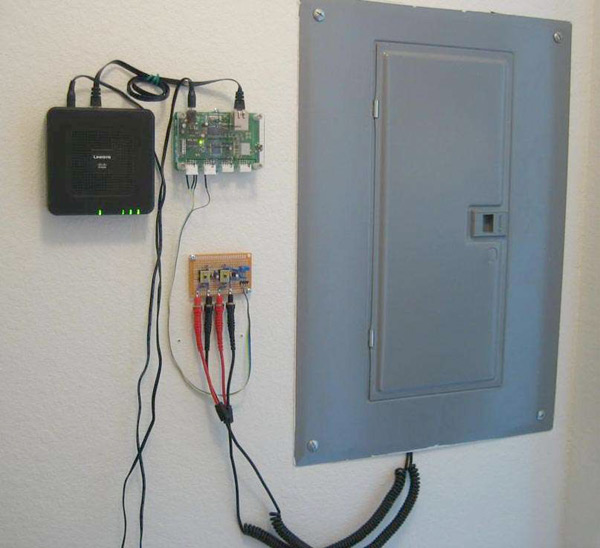 DIY internet connected whole-house power monitor