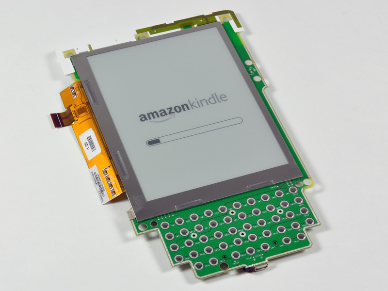 Kindle 2 broken-down: on-purpose and by accident