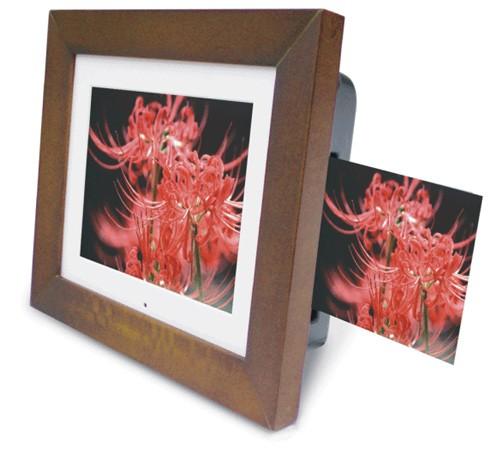 Amex Digital SP-7 digital frame with built-in photo printer