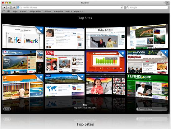 Apple Safari 4 launched: 30x faster JavaScript than IE7