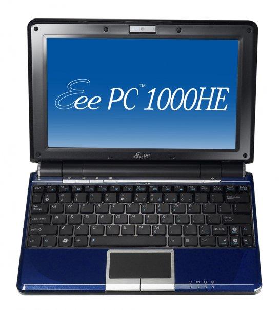 ASUS Eee PC 1000HE Atom N280 netbook up for preorder