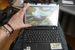 DIY ASUS Eee PC 900HA touchscreen upgrade tutorial