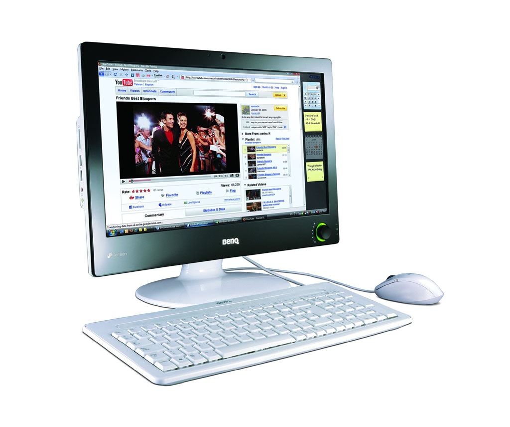 BenQ nStation i91: all-in-one PC as easy as a TV