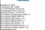 OS 4.7.0.99 for BlackBerry Storm 9530 leaks