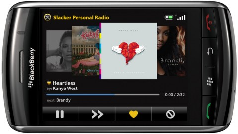 Reminder: Slacker Radio Plus giveaway!