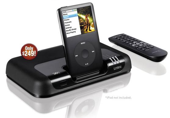 Cambridge Soundworks MovieWorks HD X-Fi iPod dock