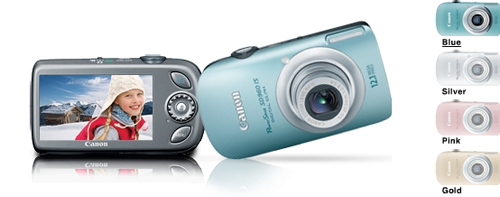 Canon's website glitch leaked upcoming Powershot SD780 IS and SD960 IS