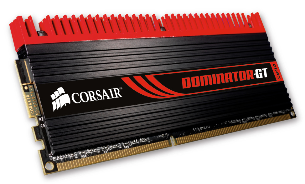 Corsair high performance DDR3 Dominator GT family gets official