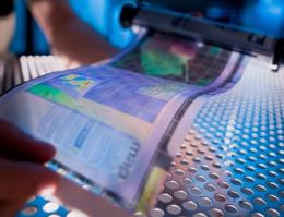 Flexible e-paper mass production imminent; color version soon after?
