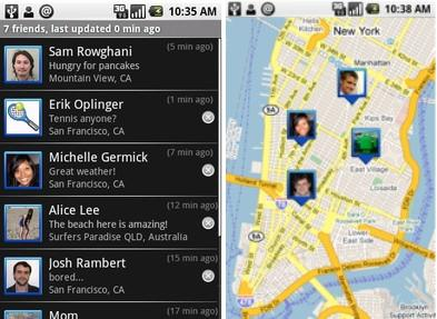 Google Latitude: location-sharing app launches