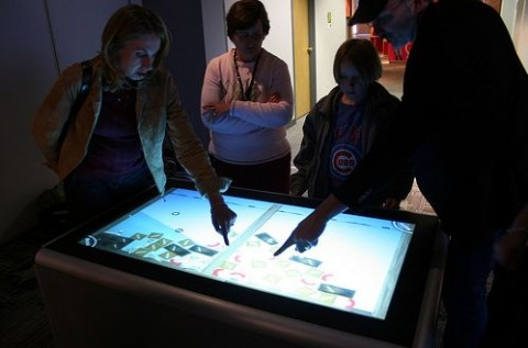Ideum update 50-inch multitouch table [Video]
