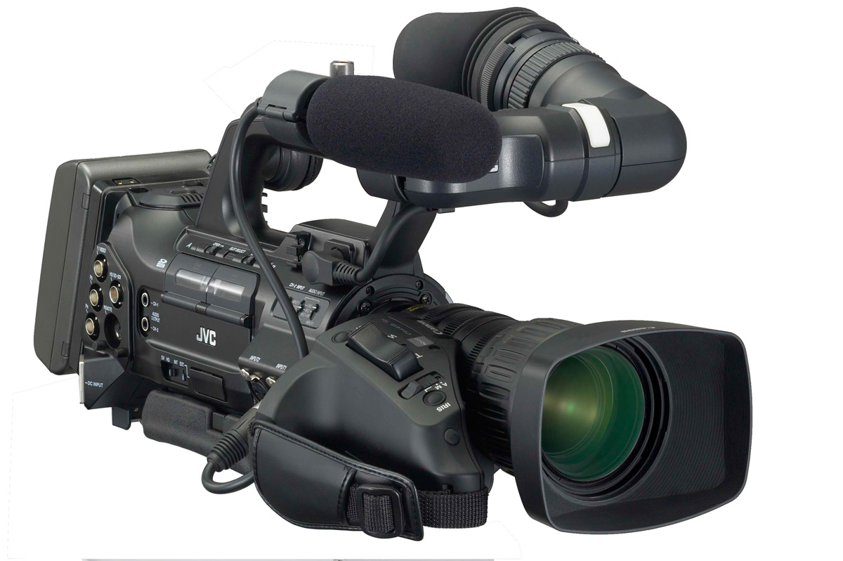 JVC intros compact shoulder ProHD GY-HM100 Camcorder