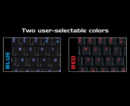 OCZ shows off Alchemy Illuminati upscale keyboard