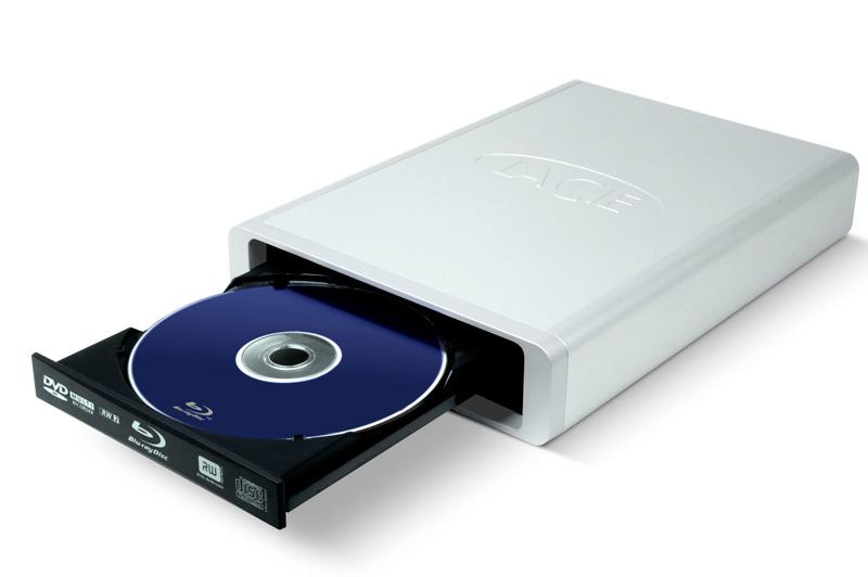 LaCie d2 Blu-ray drive boasts 8x BR recording speed