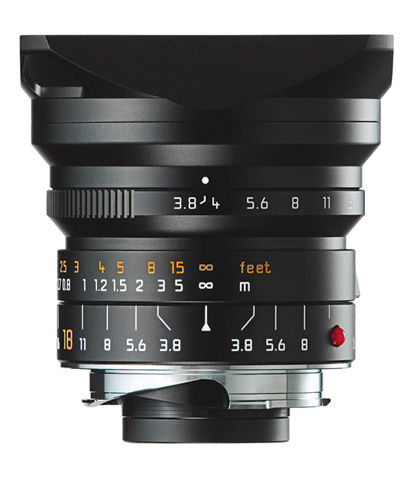 A sneak preview of upcoming Leica M 3.8/18 Super-Elmar