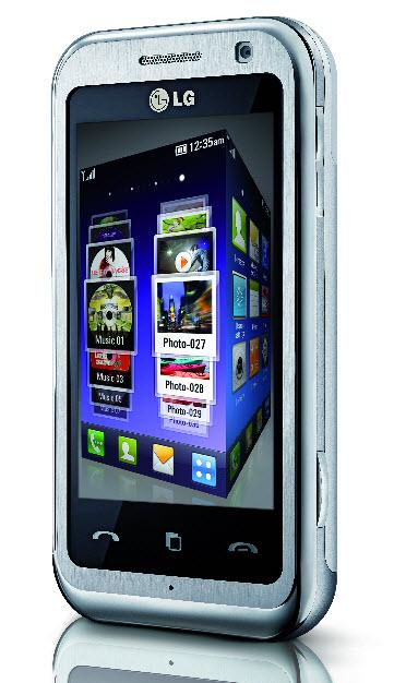 LG Arena KM900 official: 3G, touchscreen & heavy multimedia