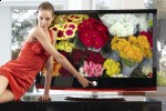 LG XCanvas LH70 HDTV with Bluetooth, DivX & 1m:1 contrast
