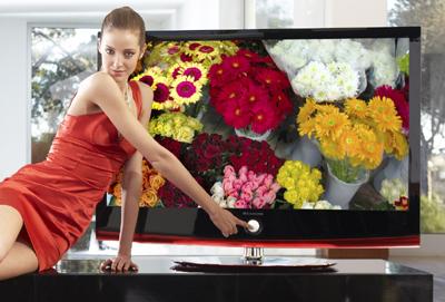 LG XCanvas LH70 HDTV with Bluetooth, DivX & 1m:1 contrast