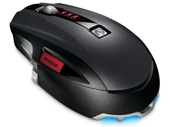 Microsoft SideWinder X8 BlueTrack mouse out this week