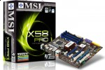 MSI X58 Pro 'affordable' Core i7 mainboard