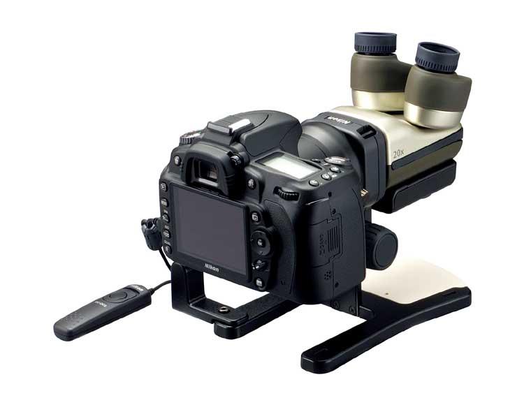 Nikon's stereoscopic Microscope now fits Nikon DSLR, Extreme