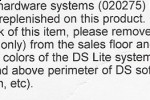 Nintendo DS Lite Onyx has been discontinued?