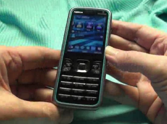 Nokia 5630 XpressMusic HD video demo