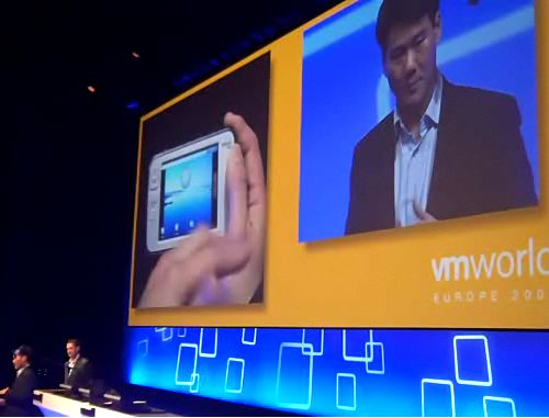 Nokia N800 runs Android in VMware: Video Demo
