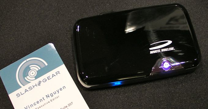 Novatel MiFi 2352 Euro GSM debuts at ShowStoppers