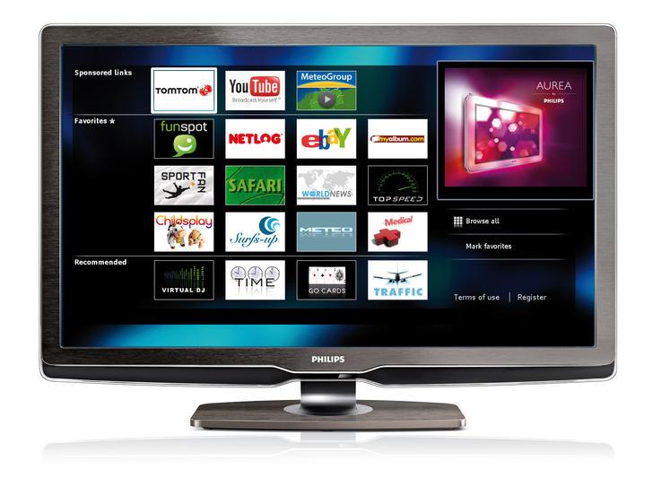 Philips NET TV breaks cover in UK