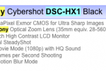 PMA rumor : SONY Cyber-shot DSC-HX1, 20x zoom with 1080p video