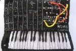 Vintage Synths get mini felt-homage