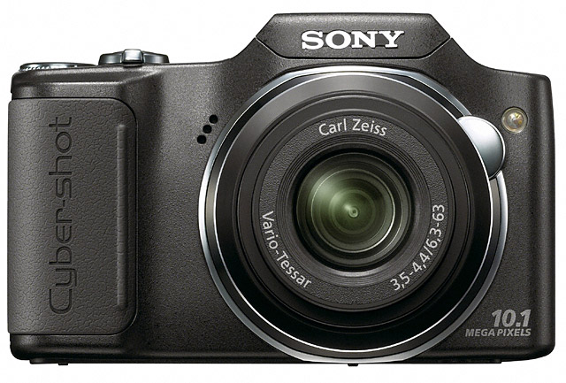 Sony H20 is budget Cyber-shot with Ultra zoom lens
