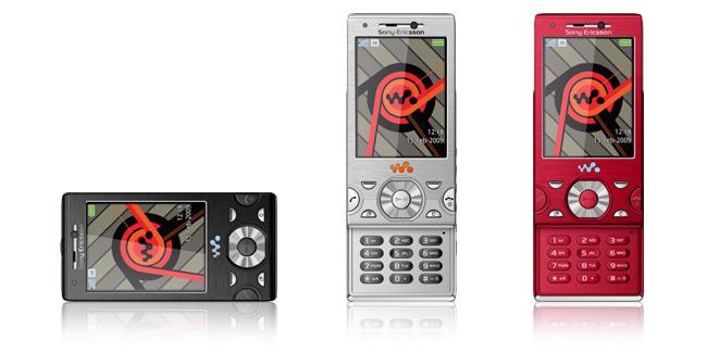 Sony Ericsson W995 Walkman with 8.1MP and Sony MediaGo