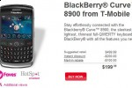 T-Mobile BlackBerry Curve 8900 goes on general sale