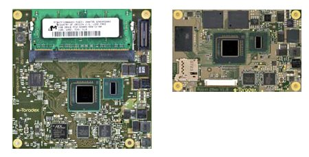 Toradex Robin: Atom CPU on credit card sized mainboard