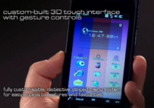 Toshiba release official TG01 GUI demo video