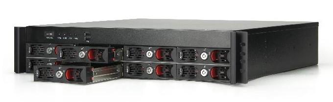 VIA NSR7800 8-bay eco-friendly 16TB server
