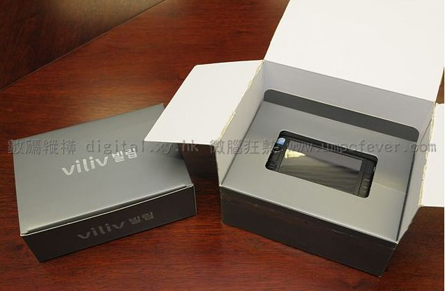 Viliv S5 gets unboxed, compared to VAIO P & Compal MID
