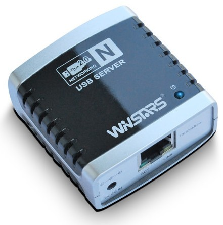 Winstar M4: connect 4 USB devices to your local network