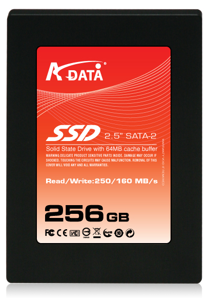 A-DATA SSD 300 Plus: 250MB/sec read, 160MB/sec write