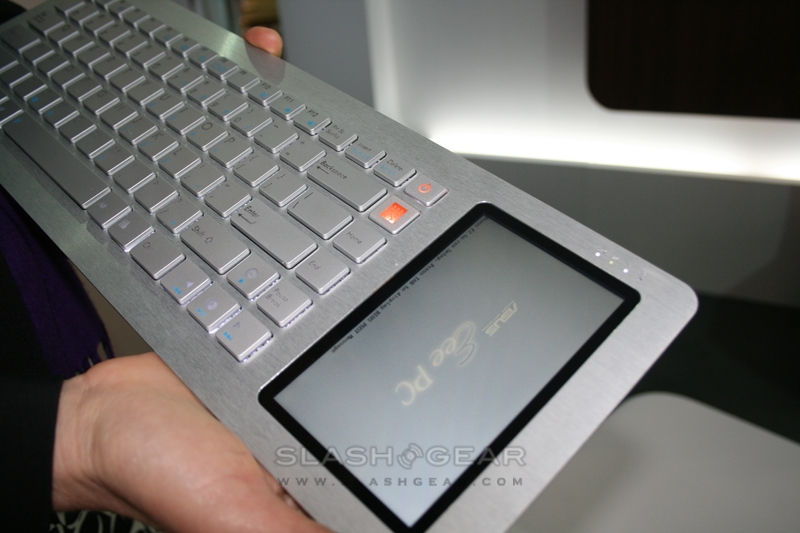 ASUS Eee Keyboard hands-on & specs
